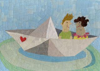 Origami-love
